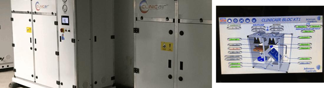 Référence: 4 Clinicair à La Clinique Saint Hilaire – Rouen – FRANCE